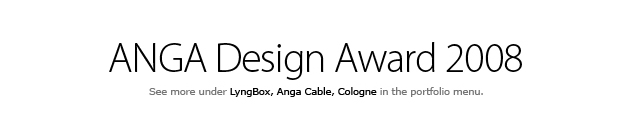 Anga Design Award 2008